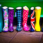 Colours Boots by Chris Goldberg (Flickr CC)