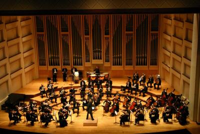 Dublin Philharmonic Orchestra performing Tchaikovsky's Symphony No 4 in Charlotte, North Carolina