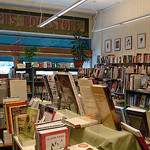 Inside Joseph's Bookstore by Rachel H at flickr