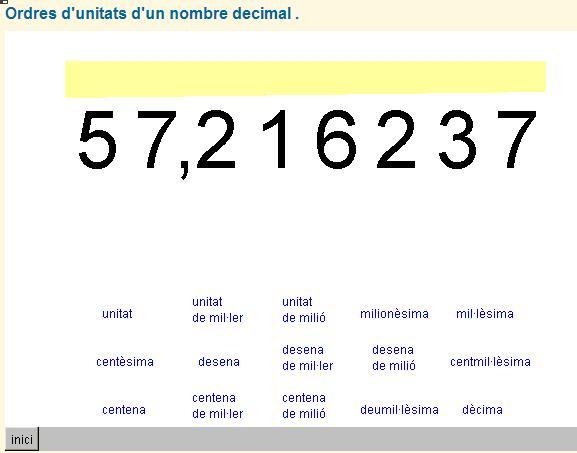 Nombres Decimals Aplicaci 243 De Recursos Al Curr 237 Culum