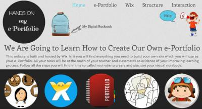 Hands on my ePortfolio Site