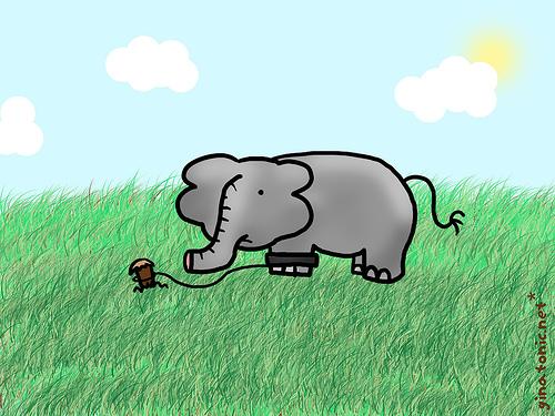 La odisea for El elefante encadenado